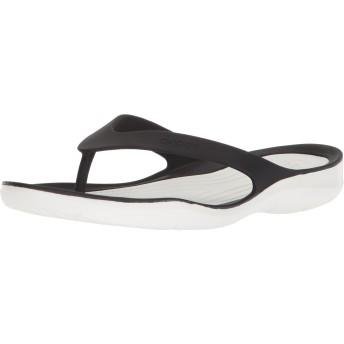 [クロックス] ビーチサンダル スウィフトウォーター レディース Black/White 23 cm