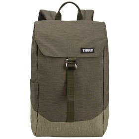THULE】 スーリー Lithos Backpack リソス バックパック 16L TLBP-113 15インチ MacBook 14インチノートパソコン (Forest night-Green)