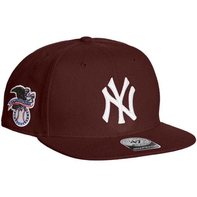 (フォーティセブン)'47 CAP Yankees Sure Shot '47 CAPTAIN B-SRS17WBP-KM KM Dark Maroon Free (55-61cm) [正規品]
