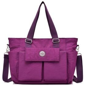 happy-JP ショルダーバッグ 斜めがけ トートバッグ レディース マザーズバッグ 大容量 手提げ 肩掛け 鞄 オックスフォード 通勤 通学 旅行 5色