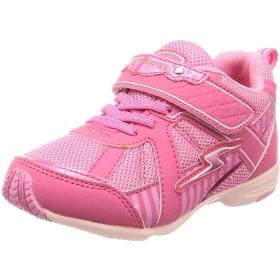 [スーパースター] 運動靴 マジック 軽量 15-19cm(0.5cm有) 2E キッズ 女の子 SS K893 ピンク 18.0 cm