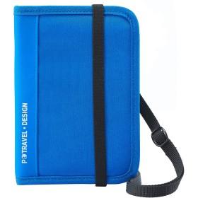kroeus(クロース)パスポートケース セキュリティポーチ ストラップ付き 肩掛け マルチポーチ 海外旅行グッズ 薄型 トラベル用