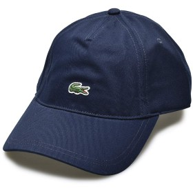 [ラコステ] LACOSTE 帽子 エンブロイダード クロコダイル コットン キャップ RK4863 メンズ レディース 03.ブルーマリン2 フリー [並行輸入品]