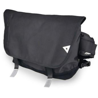 AMMI (アミ)ショルダーバッグ メンズ 斜めがけバッグ 防水 小物収納 カバン 斜め掛け カジュアル バッグ メッセンジャーバッグ a4 (ブラック)