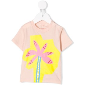 Stella McCartney Kids プリント Tシャツ - ピンク