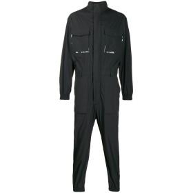 Wwwm ロゴ ジャンプスーツ - ブラック