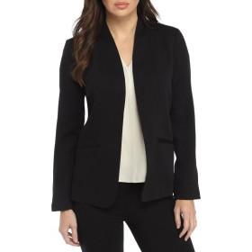レディース セット スーツ パンツ 無地 無襟 ブラック フォーマル ストレッチ 大きいサイズ エレガント 正式,9