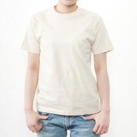 ティーシャツドットエスティー Tシャツ 半袖 無地 ビッグサイズ 6.2oz メンズ ナチュラル L