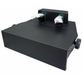 ピアノ補助ペダル:AX-100「コンクールで使用可能な補助ペダル」身長目安120cm弱~130cm:ピアノ用 ペダル付き足台