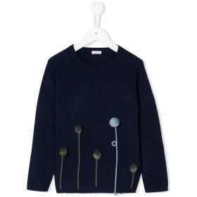 Il Gufo ポンポン セーター - ブルー