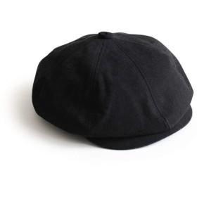 (XL[60cm~62cm] Black) [アナグラム] ANAGRAM 2way ダックキャスケット ハンチング ニュースキャップ 大きいサイズ 帽子 XLサイズあり