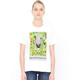 グラニフ(graniph) 【ユニセックス】コラボレーションTシャツ/シェイカーレイク(チャーリーハーパー)【001ホワイト/M】