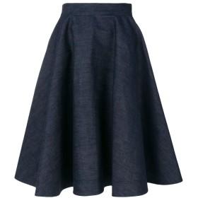 Calvin Klein 205W39nyc フレアスカート - ブルー