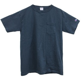 (チャンピオン) Champion メンズ ポケットTシャツ / T1011 US T-SHIRT/Navy(ネイビー) Lサイズ