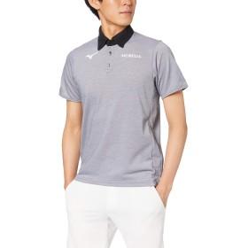 [Mizuno] サッカーウェア ポロシャツ 半袖 P2MA9005 キャスチャコール 日本 XL (日本サイズXL相当)
