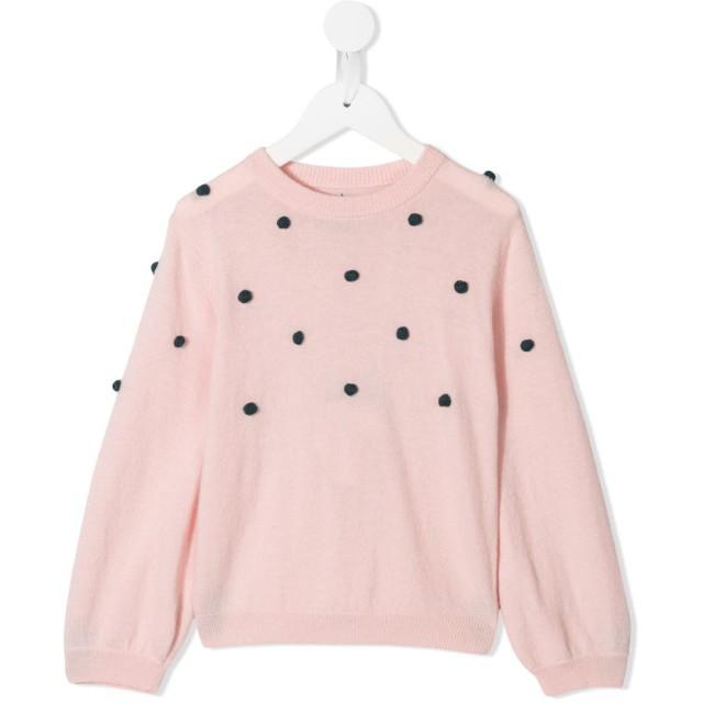 Velveteen Hazel ポンポン セーター - ピンク
