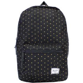HERSCHEL SUPPLY ハーシェル サプライ Settlement Backpack Mid-Volume セトルメントバックパックミッドボリューム 10033 メンズ レディース 17L カラー:Black Gridlock Gold:10033-02097 [並行輸入品]
