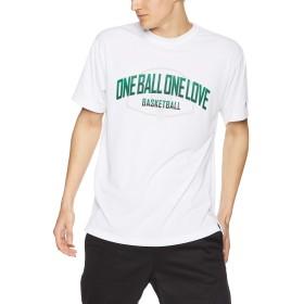 [チャンピオン] プラクティスTシャツ バスケットボール C3-PB317 メンズ ホワイト 日本 XL (日本サイズXL相当)