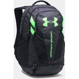 [UNDER ARMOUR] アンダーアーマー Men's UA Hustle 3.0 Backpack STEALTH GRAY/Black [並行輸入品]