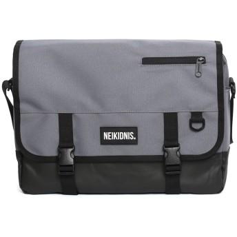 [ネイキドニス] NEIKIDNIS Icon Messenger Bag 男女共用 メッセンジャーバッグ [並行輸入品] (Charcoal)