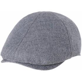 WITHMOONSキャスケットハンチング帽メンズ フラットキャップ シンプル クラシック ボキャシ コットン アイビハット ニューズボイハット キャスケット SL3651(Navy)