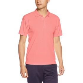 [グリマー] 半袖 4.4オンス ドライ ポロシャツ [UV カット] 00302-ADP ミックスレッド S (日本サイズS相当)