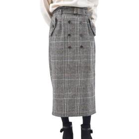 (アール・ピー・エス) r・p・s トレンチナロースカート 1031000067 M チェック