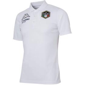 [カッパ] スポーツ ウェア 半袖 シャツ ポロシャツ ICONS KM912SS41 メンズ ホワイト (WT) サイズL