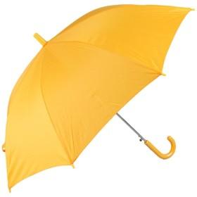 新入学の定番 学童 ジャンプ傘 55cm 黄