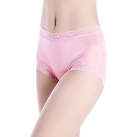 シルク 絹 ショーツ レース レギュラーライズ M L XL silk シルク100% ショーツ ショーツ レディース 絹 パンツ 下着 シルクショーツ お腹に優しい 涼感 敏感肌 低刺激 保湿 (XL, ピンク)