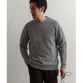 [アーバンリサーチ ドアーズ] セーター ストレッチウールクルーネックニット メンズ GRAY 38