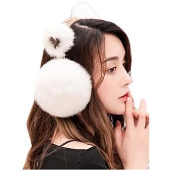 【ビビショー】イヤーマフ レディース 女性 耳あて 耳当て 耳カバー イヤーマフラー 防寒グッズ 折りたたみイヤーウォーマー 猫の耳型 防寒対策 アウトドア VIVISHOW (color6)