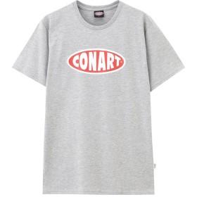 CONART ストリートプリントTシャツ 82-7132B-NN メンズ 04グレー:M