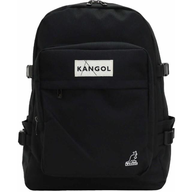 [カンゴール] KANGOL リュック パッチ バックパック ワンサイズ ブラック