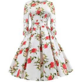 Mhomzawa レディース ワンピース 結婚式 ドレス 細身 エレガントドレス レディース 着痩せ パーティー 二次会 披露宴 謝恩会