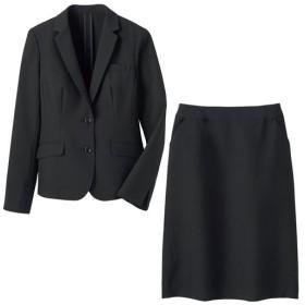 【レディース】 スカートスーツ(洗濯機OK・形態安定) - セシール ■カラー:ブラック ■サイズ:11AR67,13AR70,15ABR80,17ABR84,13ABR76,9AR64,19ABR88,21ABR92,7AR61