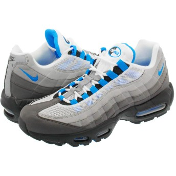 [ナイキ] AIR MAX 95 OG WHITE/CRYSTAL BLUE - US8.5-26.5cm [並行輸入品]
