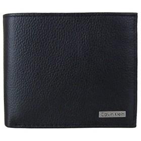 [カルバンクライン] Calvin Klein メンズ 二つ折り 財布 79215 (ブラック) [並行輸入品]