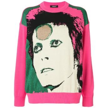 UNDERCOVER David Bowie スウェットシャツ - ピンク
