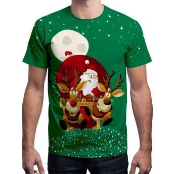 大人のための T シャツを印刷クリスマス、ユニセックス t シャツ面白いクリスマスギフトクリスマスドレスアップトップ男性女性のため