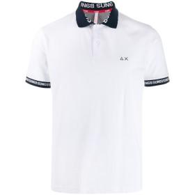 Sun 68 ロゴ ポロシャツ - ホワイト