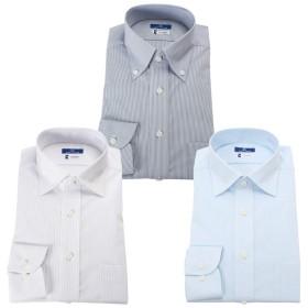 3枚セット ワイシャツ 洗って干すだけ メンズ 超形態安定 Yシャツ SPANO 日清紡
