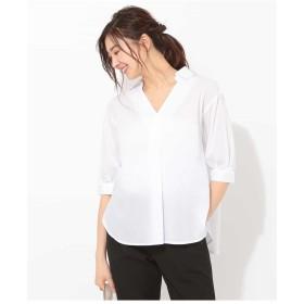 (オフオン) OFUON スキッパーシャツ EUBFD05049 L ホワイト