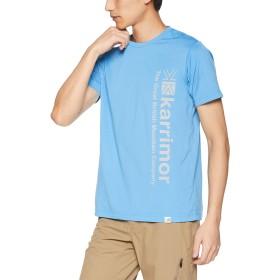 [カリマー] Tシャツ logo T vol2 メンズ Blue 日本 L (日本サイズL相当)
