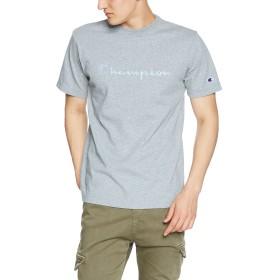 [チャンピオン] スクリプトロゴTシャツ ベーシック C3-M350 メンズ オックスフォードグレー 日本 L (日本サイズL相当)