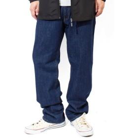 (ヘインズ)Hanes デニムパンツ メンズ 大きいサイズ ブリーチ インディゴ レギュラー ストレート ジーンズ 5ポケット ジーパン 73 ワンウォッシュ(71)