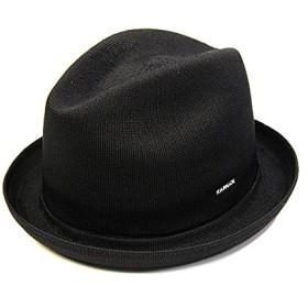 KANGOL(カンゴール) ニット中折れ帽 TROPIC PLAYER(M(約56~57cm) ブラック)