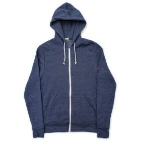 Alternative Apparel/Rocky Eco-Fleece Full Zip Hooded Parka(オルタナティブアパレル/エコフリースジップフードパーカー) M TN:エコトゥルーネイビー