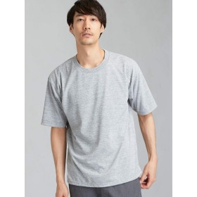 (ユナイテッドアローズ グリーンレーベル リラクシング) MC ○ACT-DRY ヘムコードクルー SS Tシャツ <機能性生地/吸水速乾> 32171994671 1510 MD.GRAY(15) XS