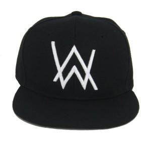 Zulha Alan Walker アラン・ウォーカー AlanWalker T-Shirt DJハット、faded、ヒップホップ、野球帽 (ブラック)